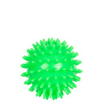 Spiky Massage Ball, ø 7 cm, neon-green, soft