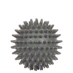 Spiky Massage Ball, ø 8 cm, gray , hard