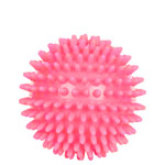 Spiky Massage Ball, ø 9 cm, neon- pink, soft