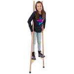 Stilts with rubber plugs, 170 cm, pair