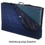 Suitcase protective cover for Portable Massage Table Variant, blue