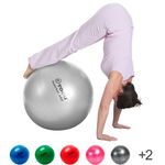 TOGU Exercise ball Powerball ABS, Ø 55 cm, silver