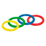 TOGU PVC diving ring, ø 16 cm, set of 4