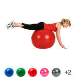 TOGU exercise Powerball ABS, Ø 65 cm, red