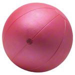 TOGU medicine ball made of ruton, Ø 34 cm, 5 kg, red
