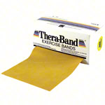 Thera-Band, 5.50 x 12.8 cm, maxi thick, gold