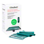 Thera-Band Dispenser incl. 30 bands, strong, green