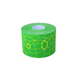 Thera-Band Kinesiology Tape XactStretch, 5 m x 5 cm, green/yellow