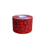 Thera-Band Kinesiology Tape XactStretch, 5 m x 5 cm, red/black