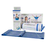Thera-Band incl. case, 2.50 x 12.8 cm, extra thick, blue