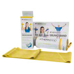 Thera-Band incl. case, 2.50 x 12.8 cm, lightweight, yellow