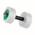 Thera-Band water dumbbells medium, green, Ø 15 cm, pair