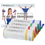 Thera-bands set of 4  incl. bags, 4 thicknesses