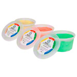 Theraflex therapy plasticine 450 g, 3 weights, set of 3