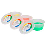Theraflex therapy plasticine 85 g, 3 thicknesses, set of 3