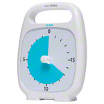 Time Timer Plus Table Clock with acoustic signal, 20 Min., 14x18 cm