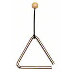 Triangle with mallet, 15 cm