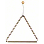 Triangle with mallet, 20 cm