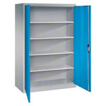 Universal cupboard with doors, HxWxD 195x120x60 cm
