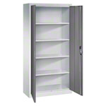 Universal cupboard with doors, HxWxD 195x93x40 cm