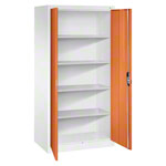 Universal cupboard with doors, HxWxD 195x93x60 cm