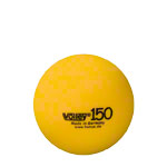 VOLLEY foam ball uncoated, Ø 15 cm, yellow