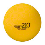 VOLLEY foam ball uncoated, Ø 21 cm, yellow