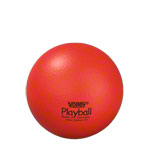 VOLLEY foam ball with elephant skin, Ø 16 cm, red