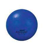 VOLLEY foam ball with elephant skin, Ø 18 cm, blue