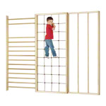 Wall bars combination, complete, 3-pcs.