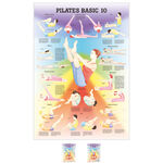 Wall chart - Pilates Basic 10 -, LxW 100x70 cm