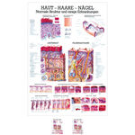 Wall chart - skin-hair-nails - , LxW 100x70 cm