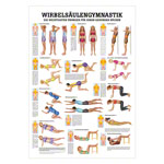 Wall chart - spinal gymnastics - , LxW 100x70 cm