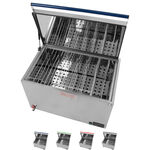 Water bath 16-130 for up to 18 heat transfer mediums, electronic