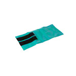 Weight bands with Velcro strips, 48x20 cm, 1 kg turquoise, one piece