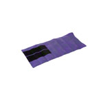 Weight bands with Velcro strips, 48x20 cm, 2 kg purple, piece