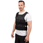 Weight vest exclusive with 38 weight bags, 10 kg