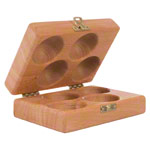 Wooden box for Thera-Band Hand Exerciser, without contents