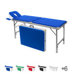 portable massage table Robusta ST, incl. head rest + arm rest, 170/210x65x70-82 cm