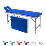 portable massage table Robusta ST, incl. head rest, LxWxH 170/210x65x70-82 cm