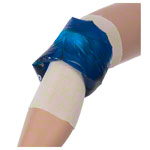 roll-on cold / warm compress for knee, Ø 15.5 cm x 15 cm