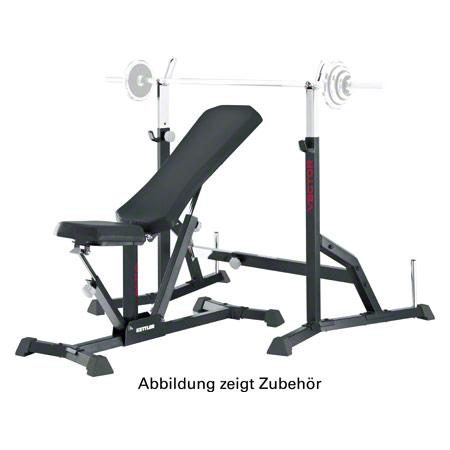 KETTLER weight bench Alpha + barbell rack vector - Sport-Tec.com ...